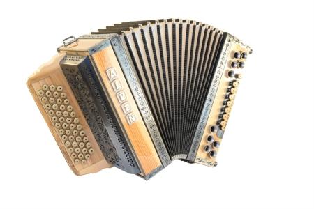 Was ist eine diatonische Knopfharmonika?